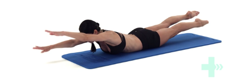 Intro to Pilates core engagement